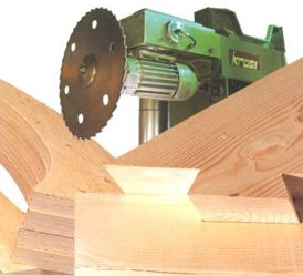 CNC Timber processing centre